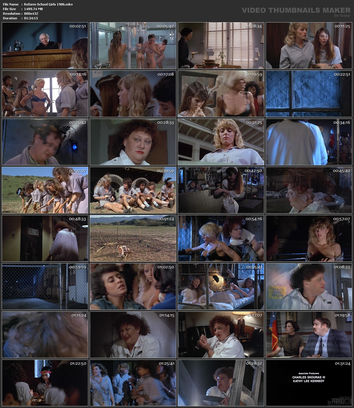Reform School Girls 1986 | Download movie