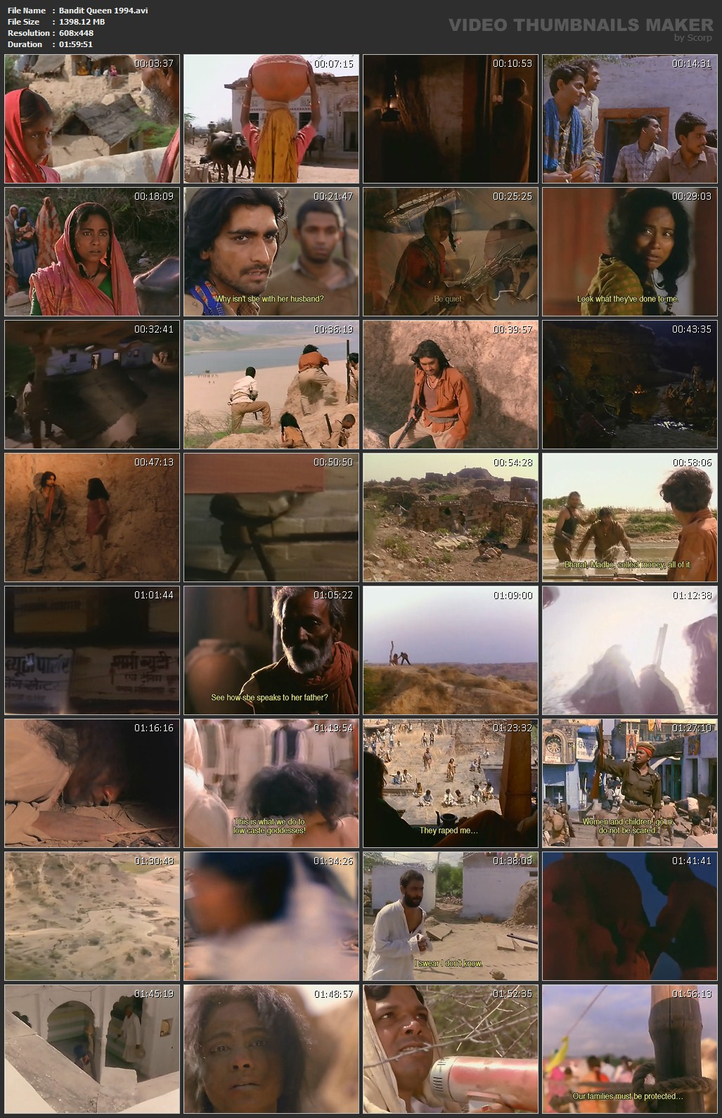 Bandit Queen Picture Review Image Summary