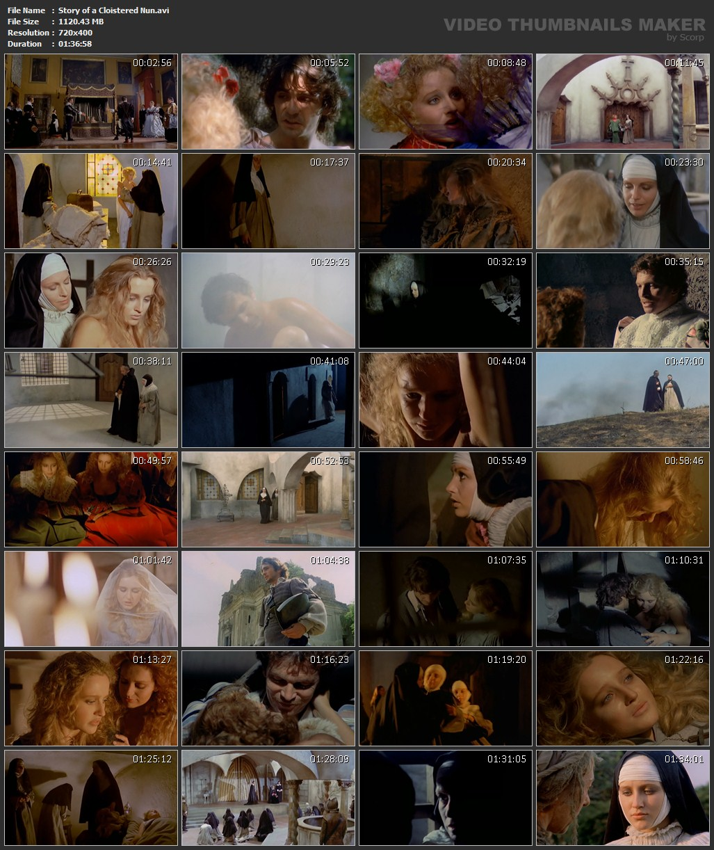 Eleonora giorgi storia di una monaca di clausura - 1 6
