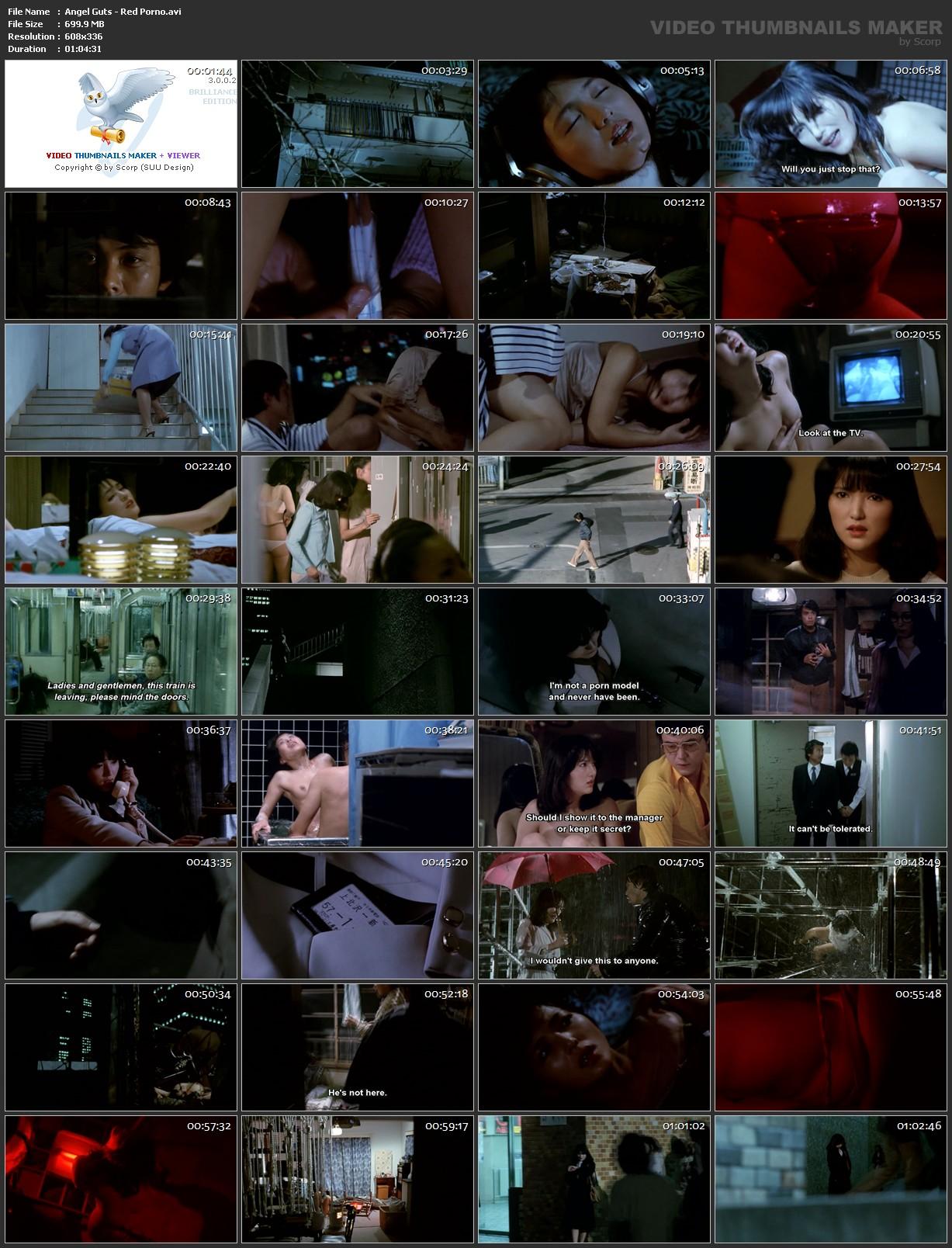 Angel Guts Red Porno-Tenshi No Harawata Akai Inga 1981 angel guts: red porno 1981   download movie