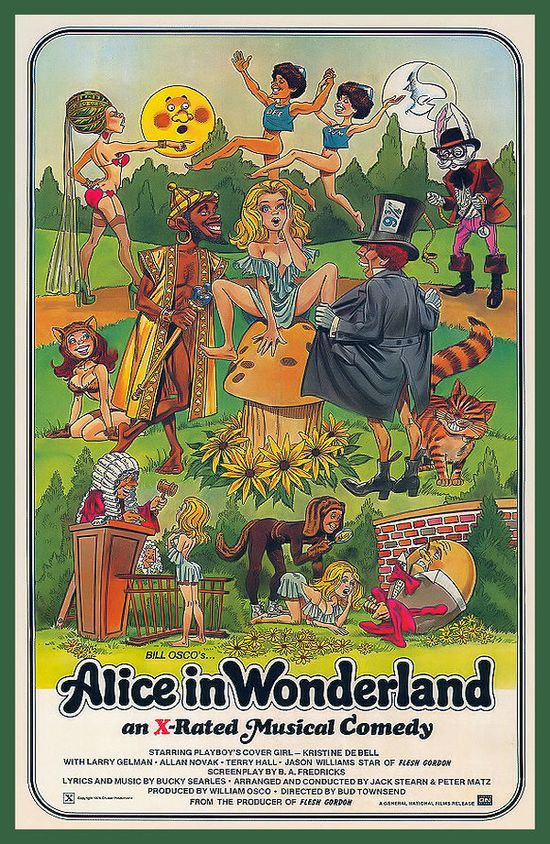 Alice in Wonderland XXX Video