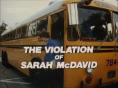 The Violation of Sarah McDavid 1981