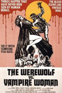 Werewolf Versus the Vampire Woman