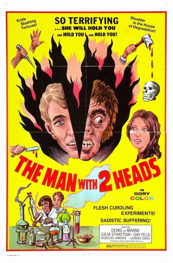 The Man with 2 Heads movie