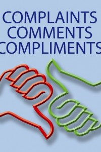Comments, Opinions and Complaints