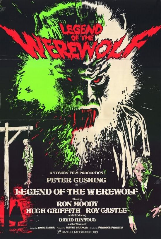 Legend of the Werewolf movie