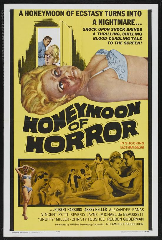 Honeymoon of Horror movie