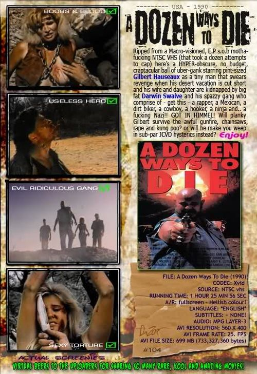 A Dozen Ways to Die movie