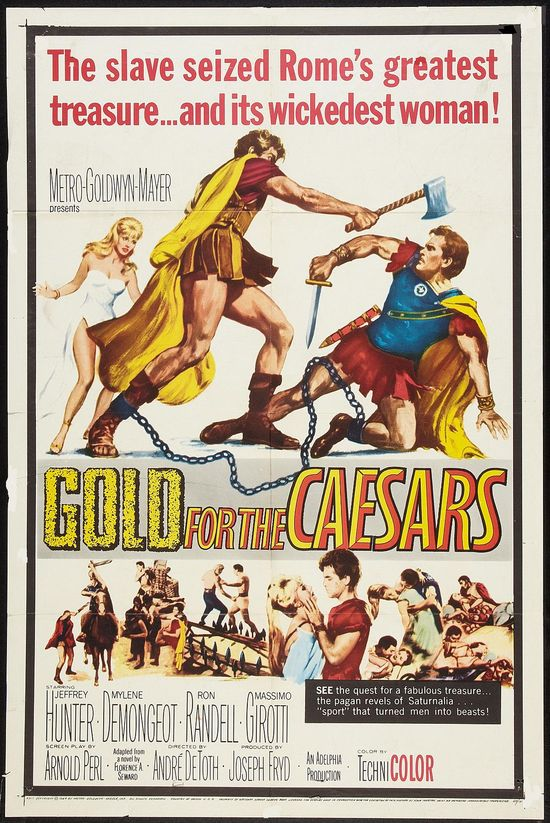 Gold for the Caesars movie