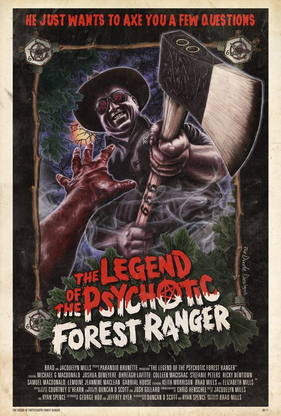 Legend of the Psychotic Forest Ranger movie