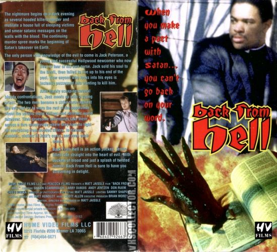 Back from Hell movie