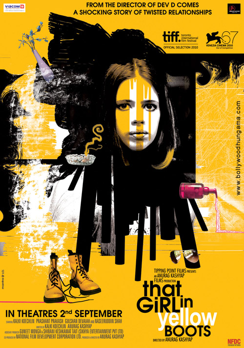 That Girl in Yellow Boots movie