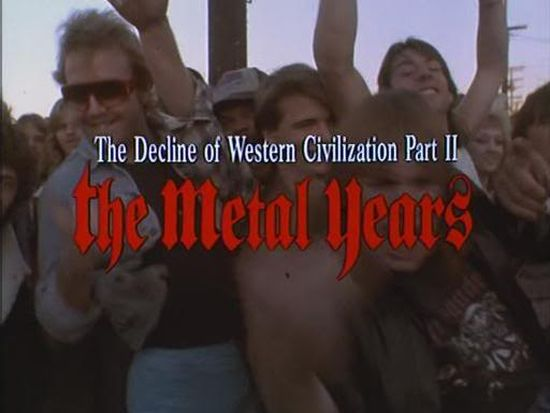 The Decline of Western Civilization Part II: The Metal Years movie