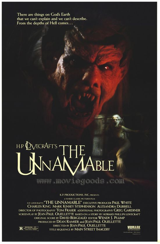 The Unnamable movie