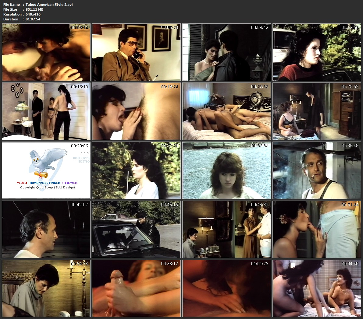 American Taboo Movie taboo american style 2 1985 | download movie
