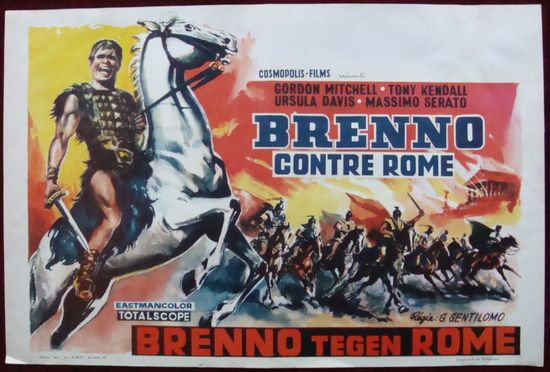 Brennus, Enemy of Rome movie