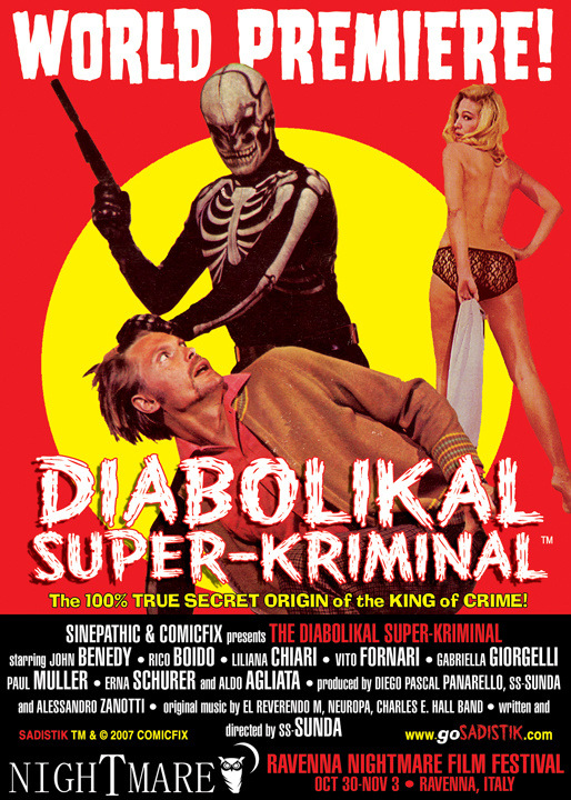The Diabolikal Super-Kriminal movie