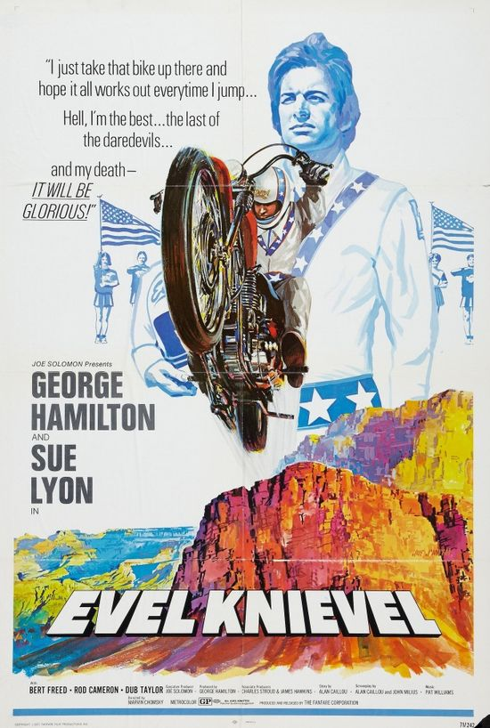 Evel Knievel movie