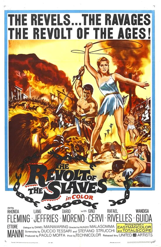 Revolt of the Slaves movie