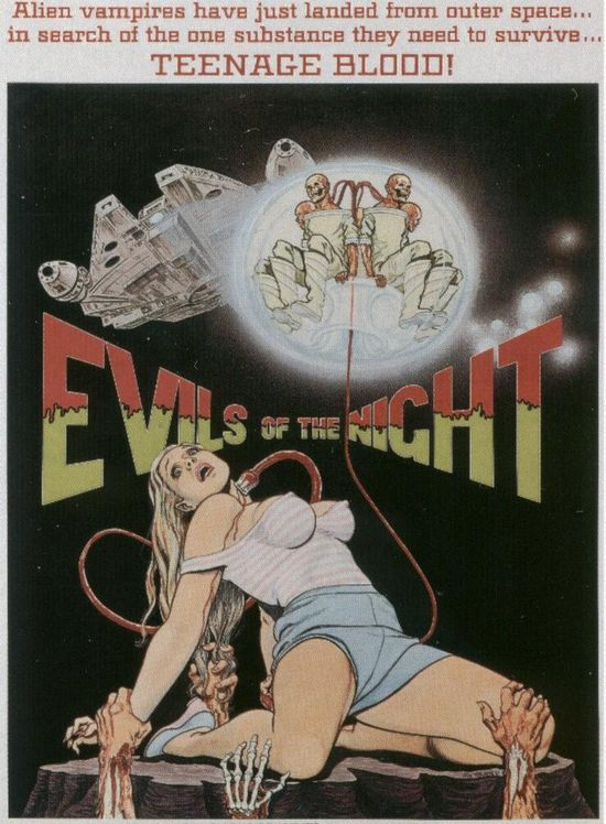 Evils of the Night movie
