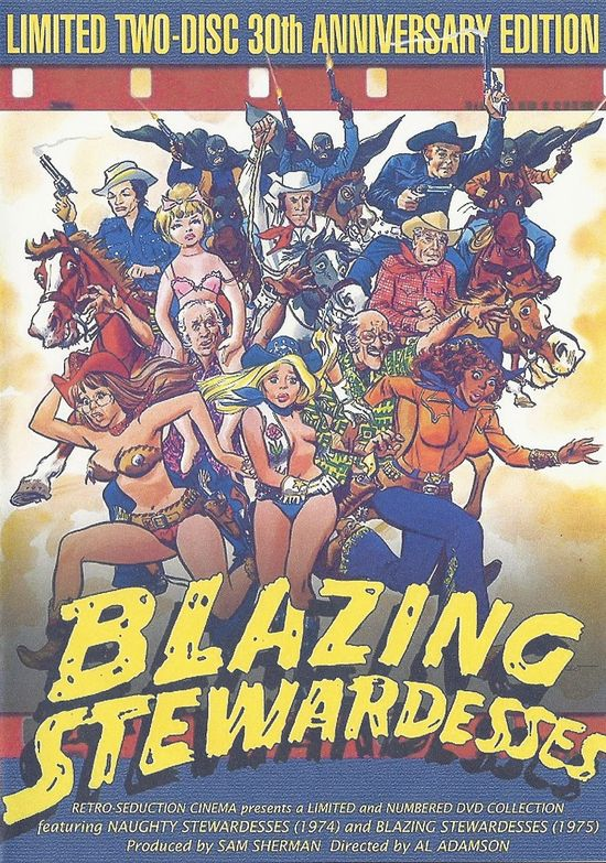 Blazing Stewardesses movie