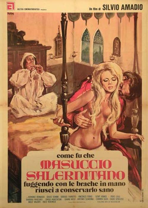 Come fu che Masuccio Salernitano, fuggendo con le brache in mano, riuscì a conservarlo sano  movie