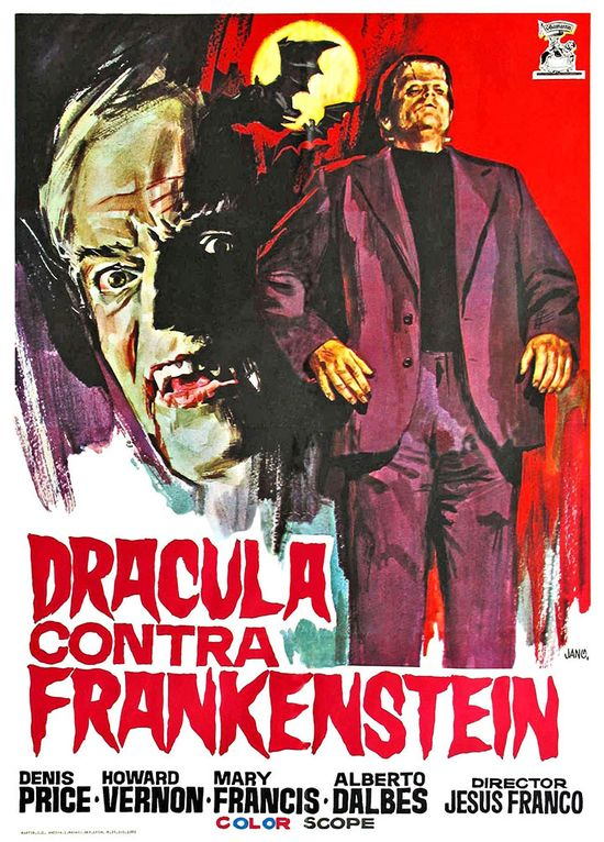 Dracula: Prisoner of Frankenstein movie