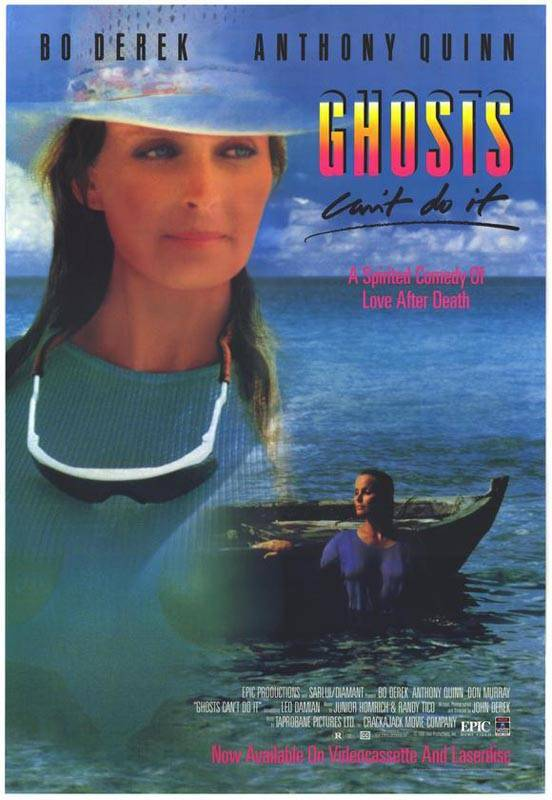 Ghosts Can't Do It movie