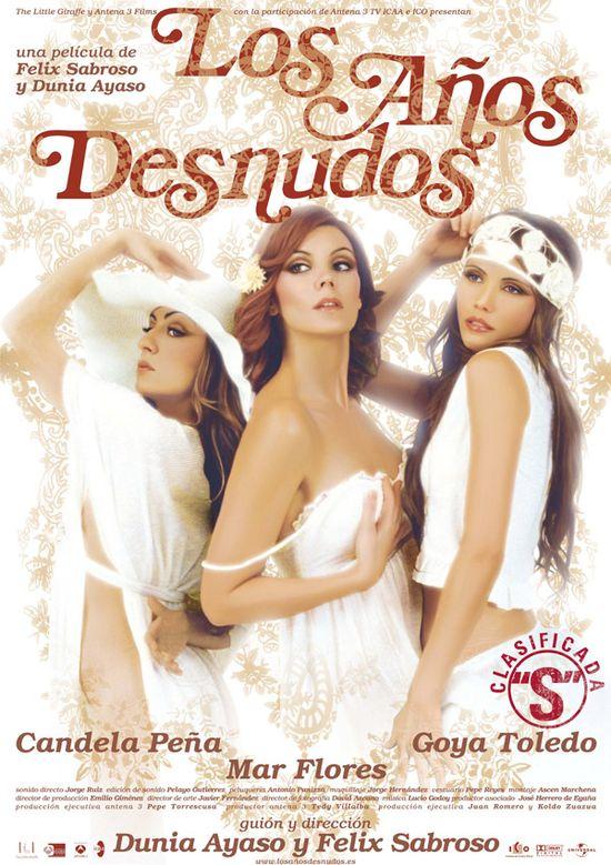 Los anos desnudos movie