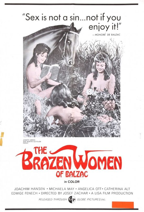 The Brazen Women of Balzac movie