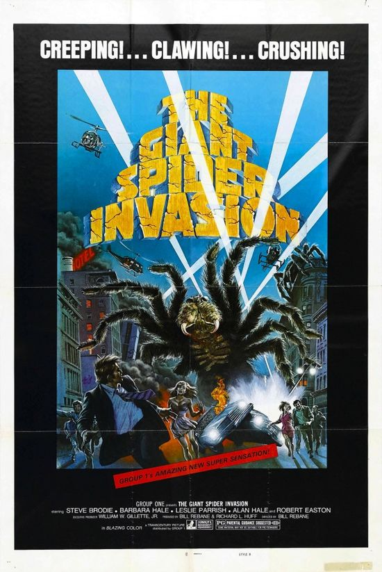 The Giant Spider Invasion movie
