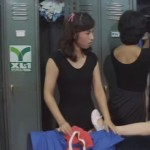 Female Gym Coach, Jump And Straddle movie