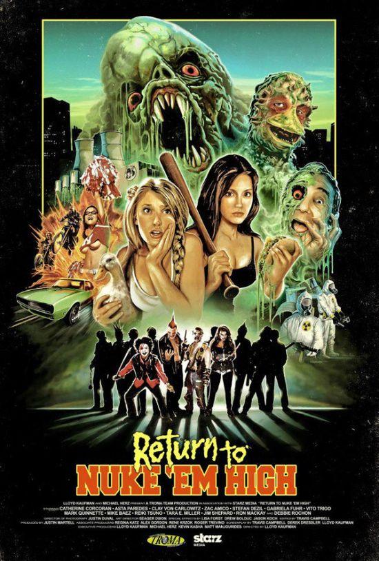Return to Nuke 'Em High Volume 1 movie