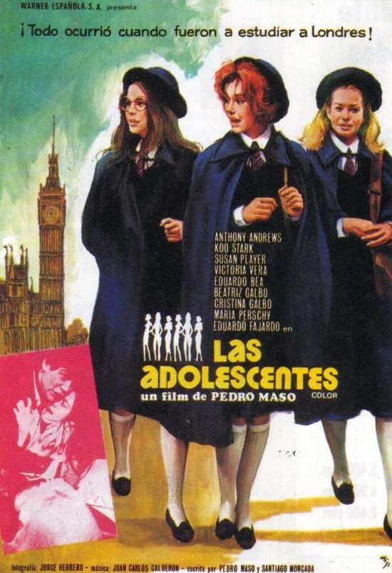 Las adolescentes movie