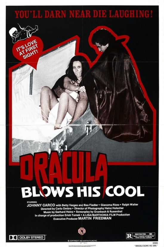 Dracula Blows His Cool movie