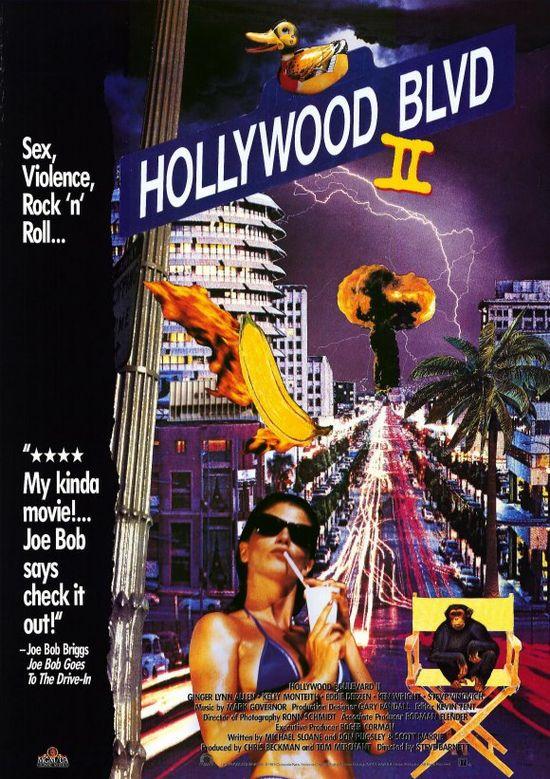 Hollywood Boulevard II movie