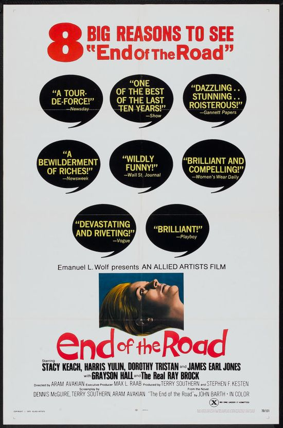 End of the Road movie