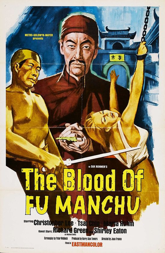 The Blood of Fu Manchu movie
