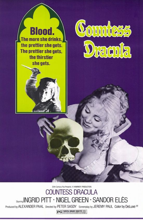 Countess Dracula movie