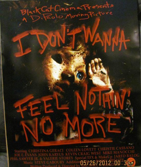 I Don't Wanna Feel Nothin' No More movie