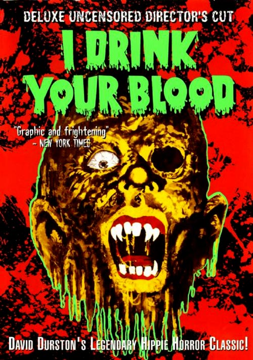 I Drink Your Blood movie