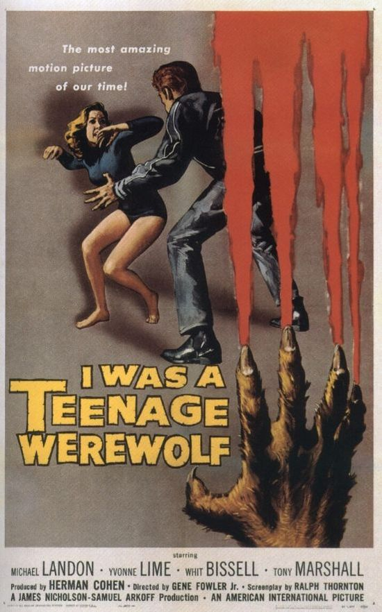 I Was a Teenage Werewolf movie
