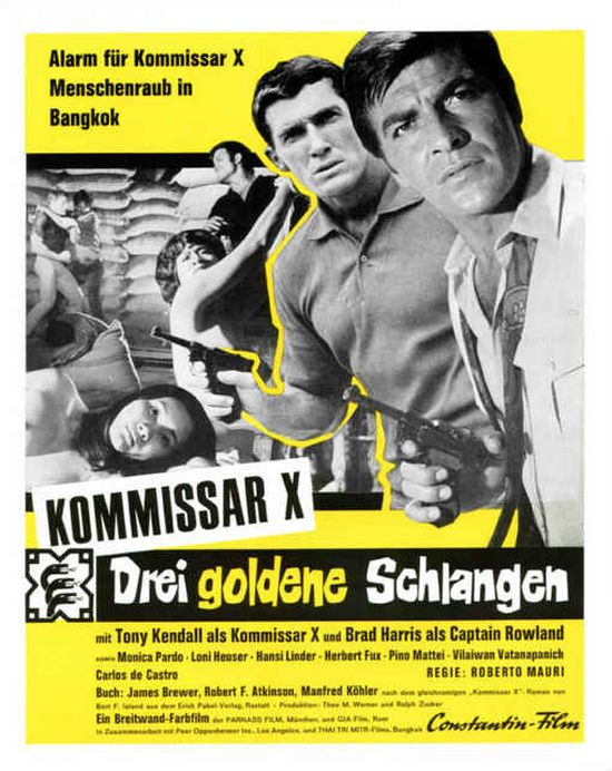 Kommissar X - Three Golden Serpents movie
