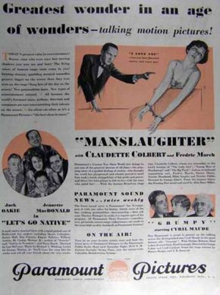 Manslaughter movie