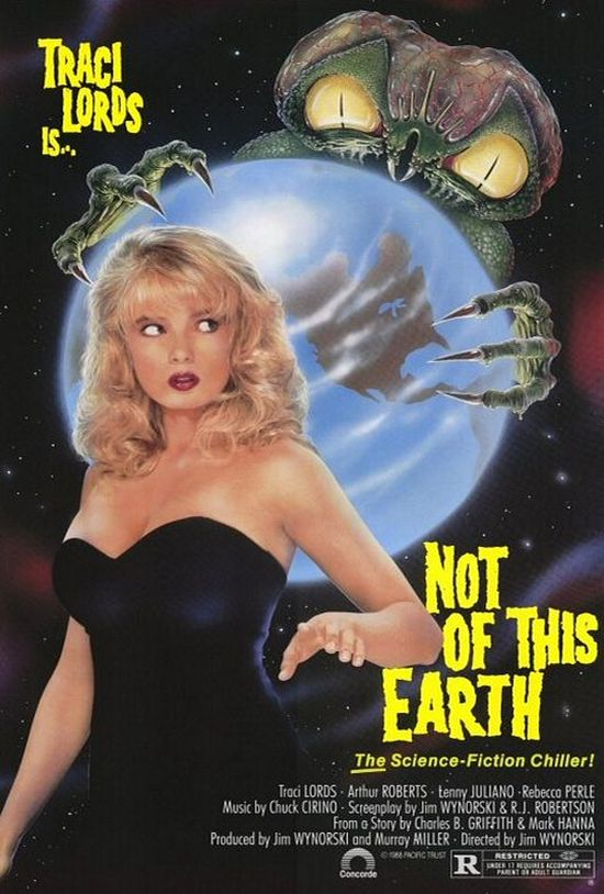 Not of This Earth movie