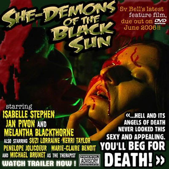She-Demons of the Black Sun movie