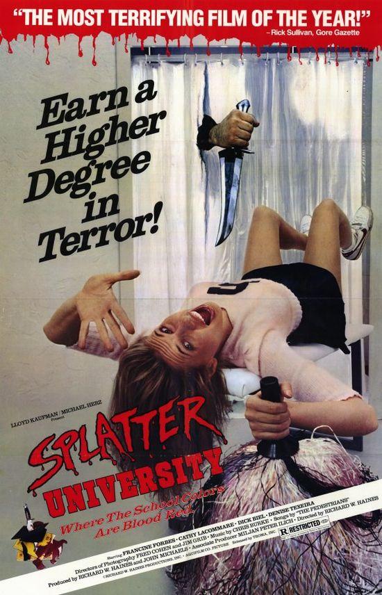Splatter University movie