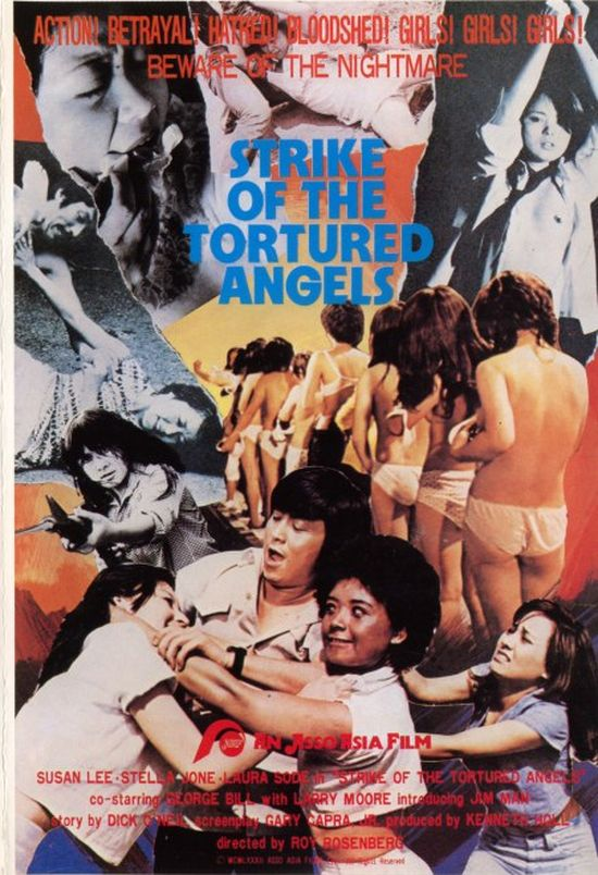 Strike of the Tortured Angels movie