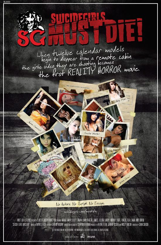 Suicide Girls Must Die! movie