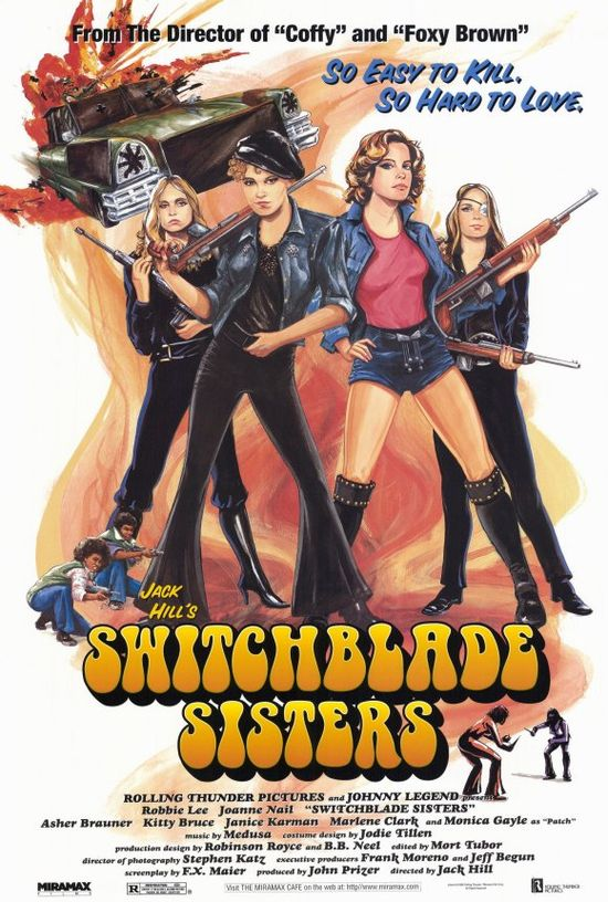 Switchblade Sisters movie